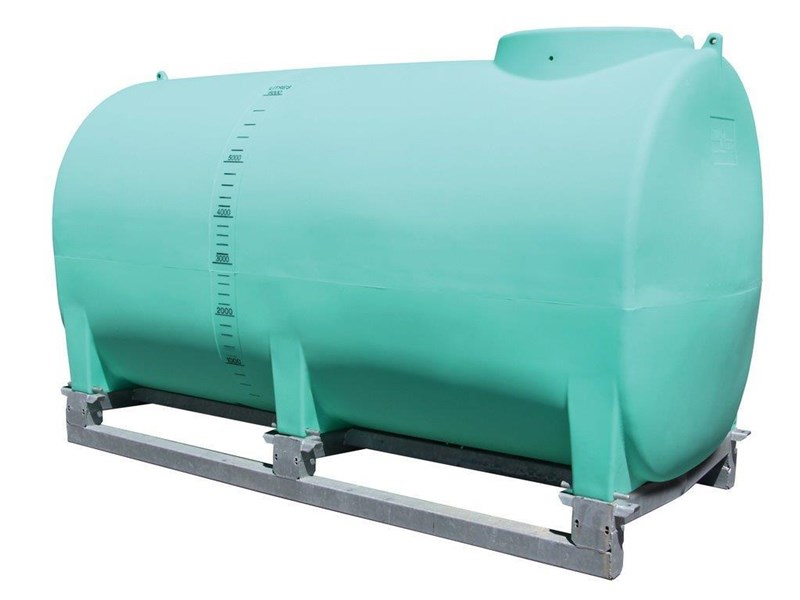 pin mount spray tank 6000l pin mount water tank [ptsp06000ktt] with galvanised steel skid [tfwater] 243553 001
