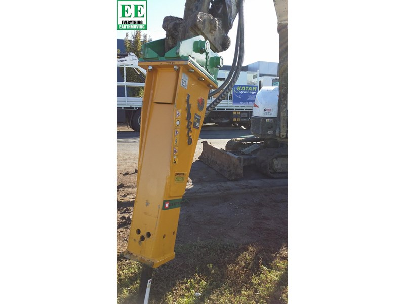 indeco hp200 whisper rock breaker from everything earthmoving 356955 028