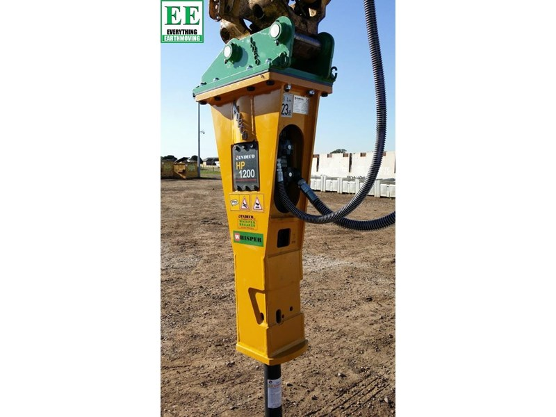 indeco hp200 whisper rock breaker from everything earthmoving 356955 008