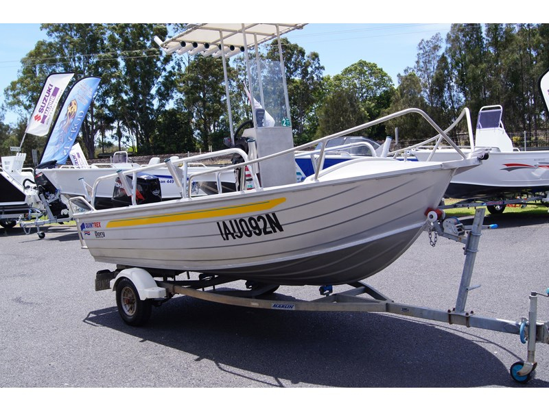 quintrex 420 dory wide body   sold 442734 001