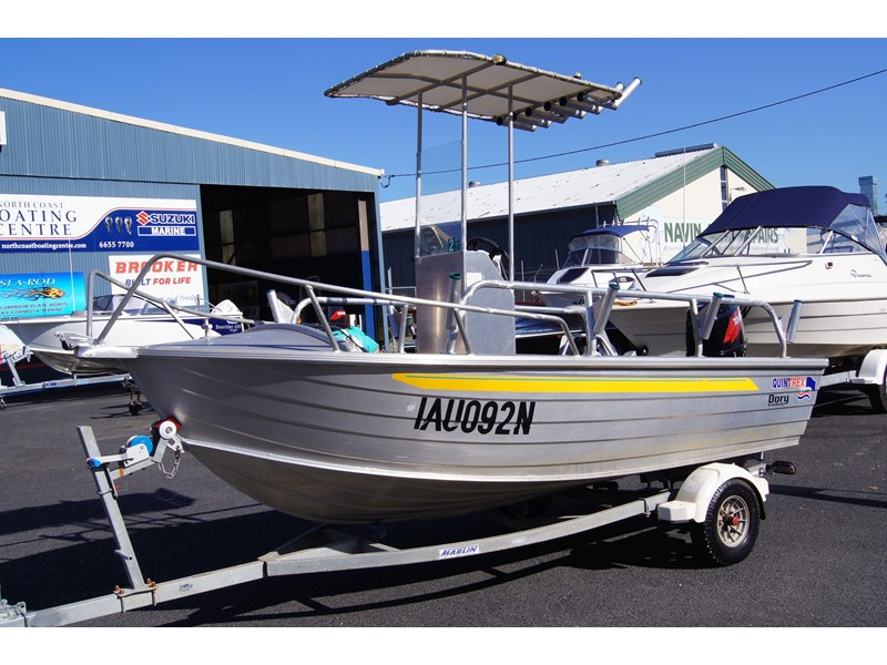 quintrex 420 dory wide body   sold 442734 002