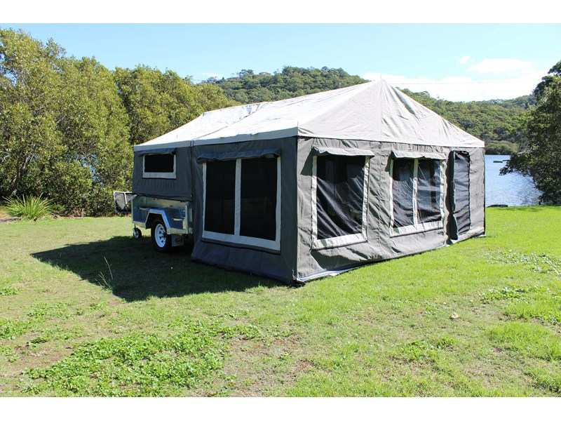 blue tongue camper trailers top quality camper trailer tent / canvas tent top / camper tent of single sunroom 444409 012