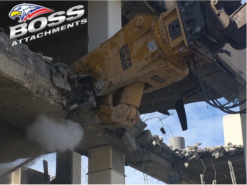 boss attachments osa rs series demolition shears  - in stock 446775 008