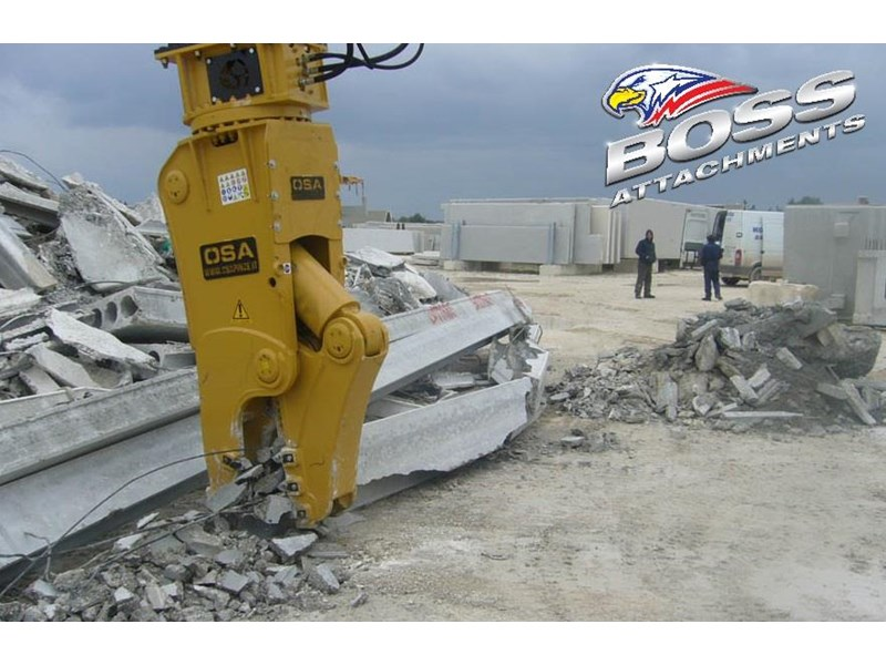 boss attachments osa rs series demolition shears  - in stock 446775 014