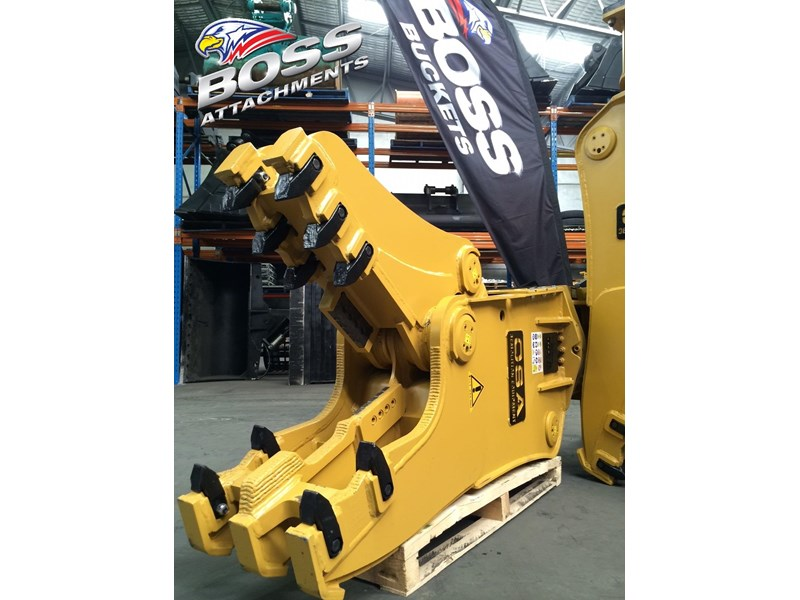 boss attachments osa rs series demolition shears  - in stock 446775 003