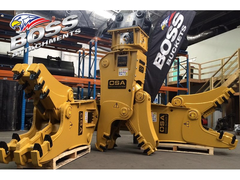 boss attachments osa rs series demolition shears  - in stock 446775 001