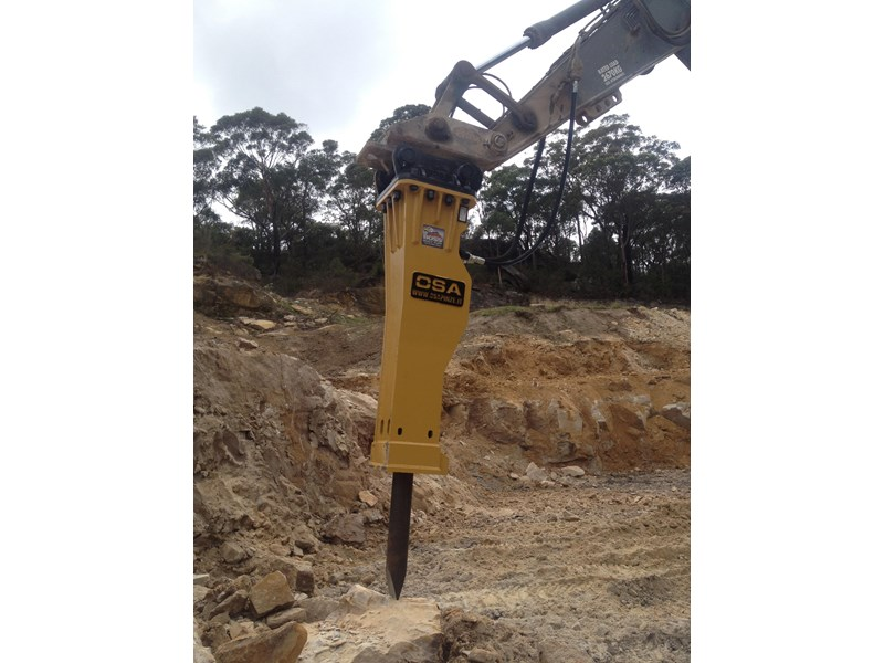 boss attachments new osa hm series hydraulic hammer 3-110 tonne 447084 004