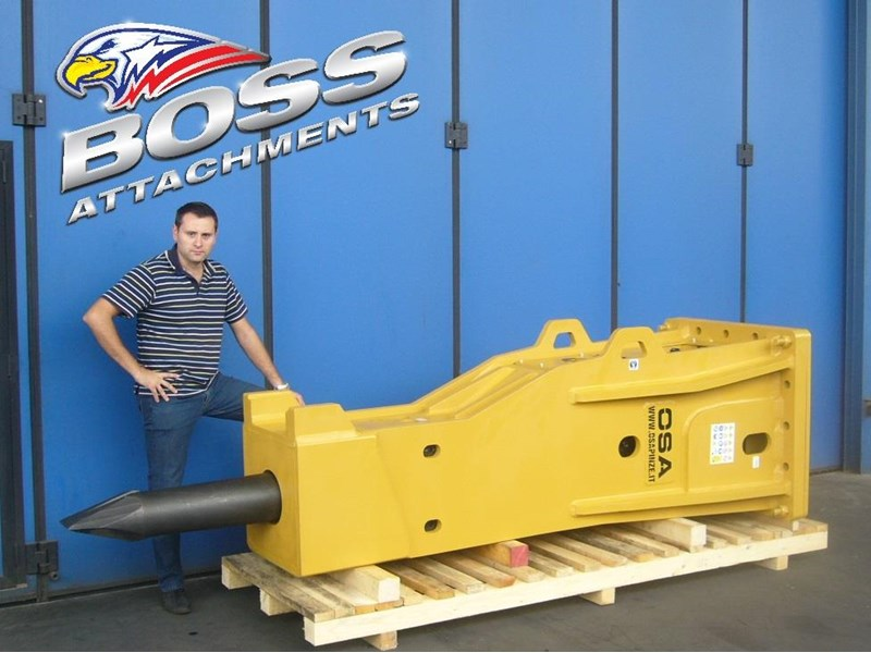 "boss attachments o.s.a 60t-110t excavator rock breakers ""in stock"" 447087 001"
