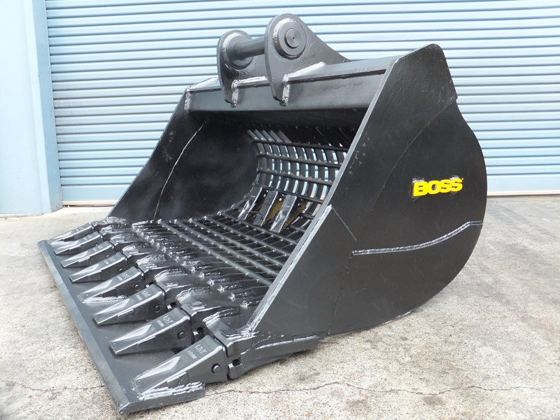 boss attachments boss gp high volume screening bucket 12 to 40 ton - in stock 447381 001