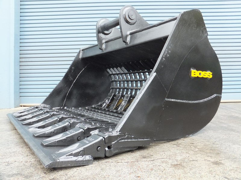 boss attachments boss gp high volume screening bucket 12 to 40 ton - in stock 447381 006