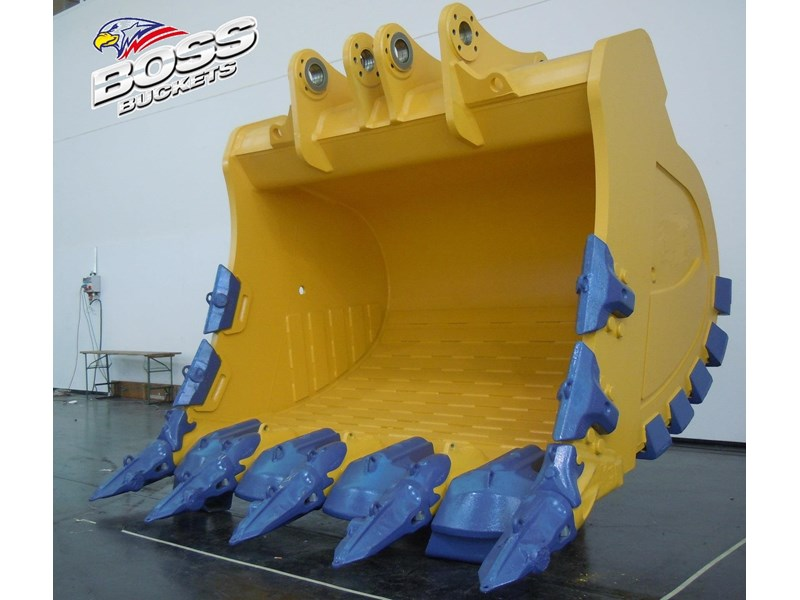 boss attachments boss italia 100-150 ton mine spec rock buckets 447410 002