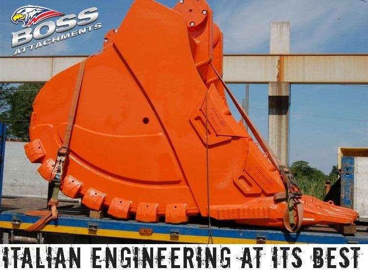 boss attachments boss italia 100-150 ton mine spec rock buckets 447410 010