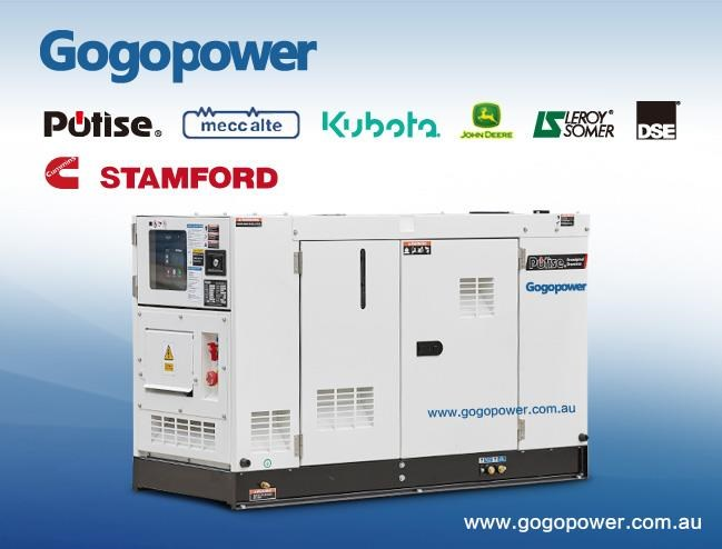 gogopower brand new sdp30k5s-au kubota powered generator 30kva 433911 001