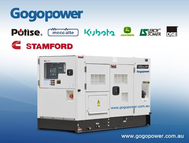 gogopower 15kva 3 phase dp15k5s-au kubota powered diesel generator 433889 001
