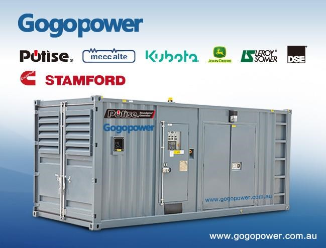 gogopower brand new dp1250c5s-au cummin powered generator 1250kva 433907 001