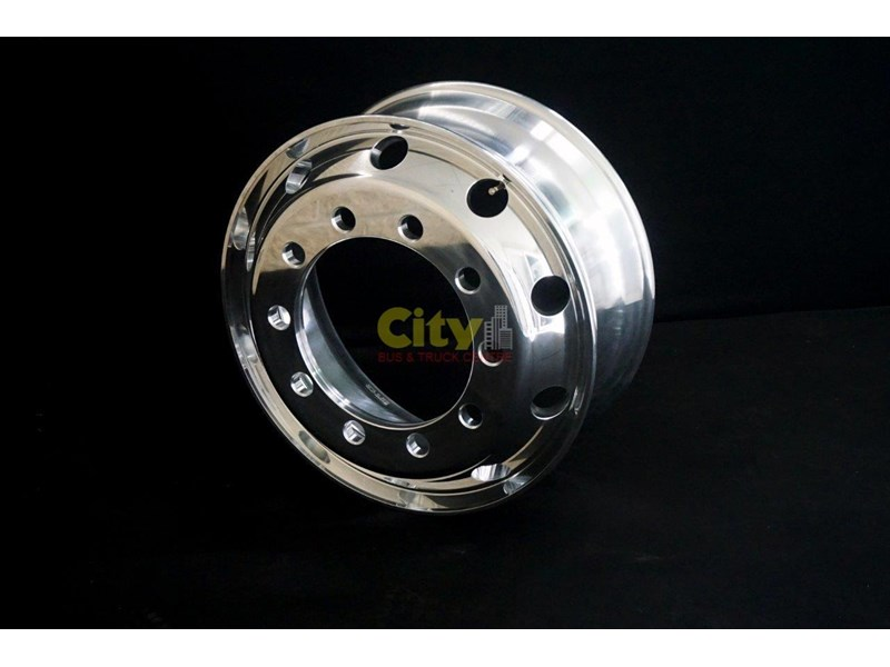 other 8.25x22.5 polished alloy rims 448574 006