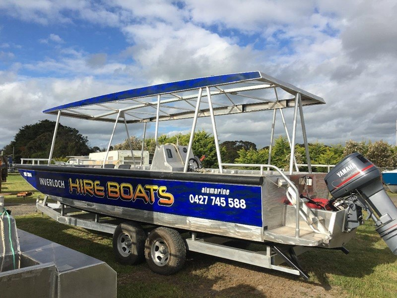 custom 7.49m alloy punt / work boat 449317 001