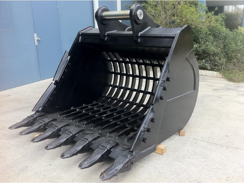 boss attachments boss 20-110 tonne armoured hd rock sieve buckets 449581 005
