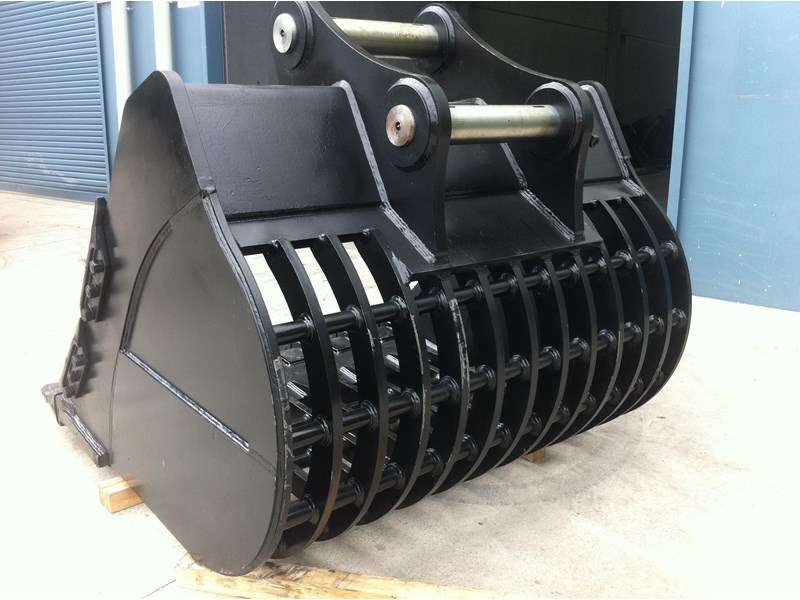 boss attachments boss 20-110 tonne armoured hd rock sieve buckets 449581 006
