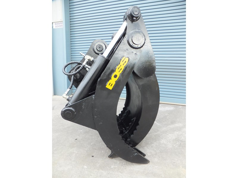 "boss attachments boss 13-40 tonne hydraulic grab ""in stock"" 449583 002"