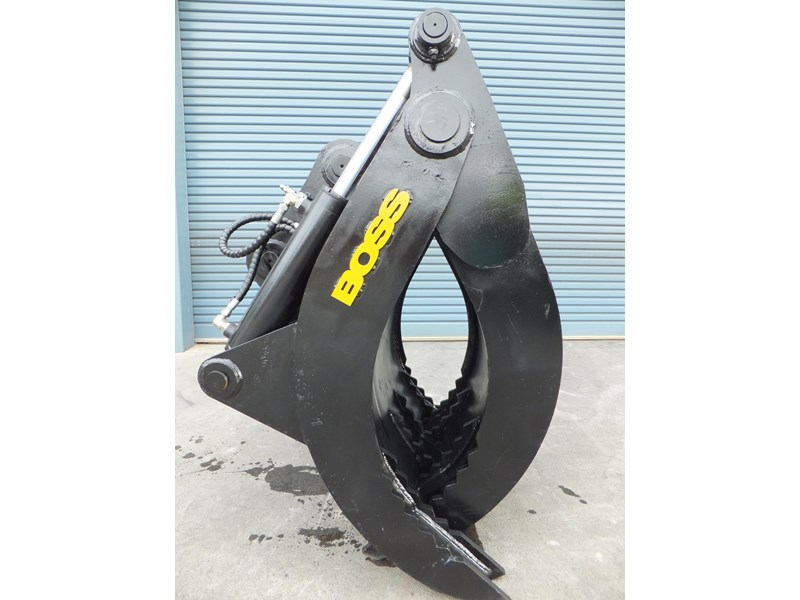 "boss attachments boss 13-40 tonne hydraulic grab ""in stock"" 449583 004"
