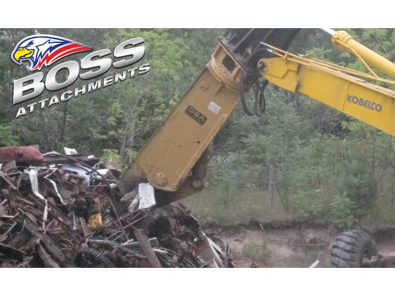 boss attachments osa sh series rotating demolition shears 449585 006