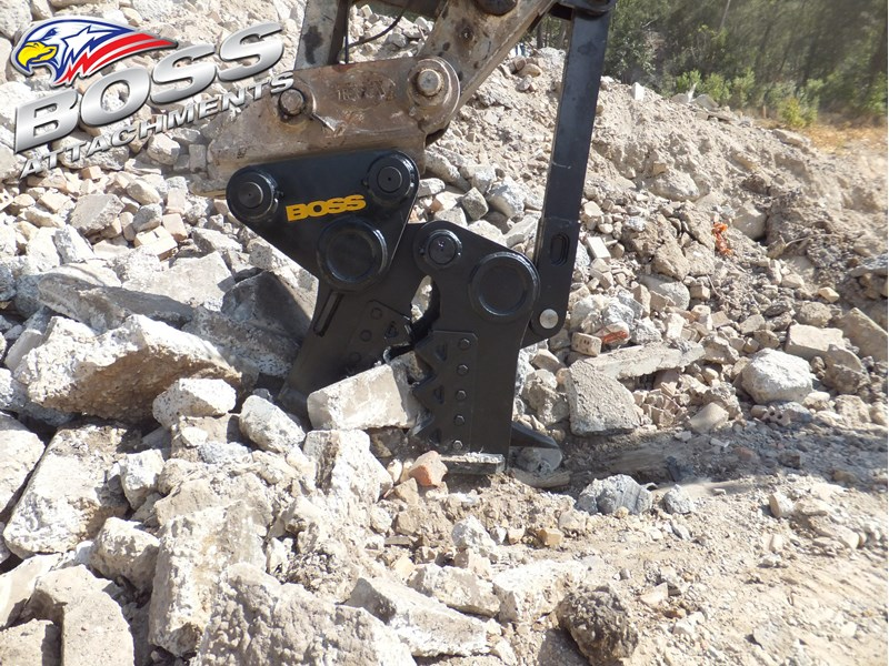 "boss attachments 13-60tonne mechanical concrete crushers ""in stock"" 449589 007"
