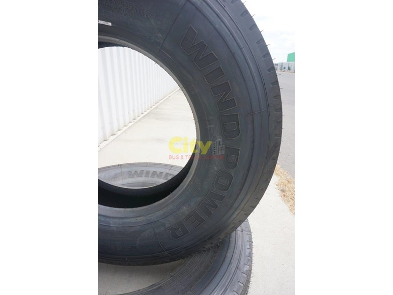 windpower wsr36 - 295/80r22.5 steer tyre 450181 006
