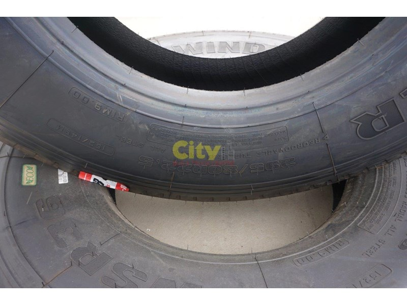 windpower wsr36 - 295/80r22.5 steer tyre 450181 007