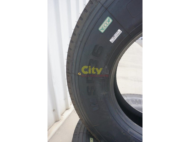 windpower wsr36 - 295/80r22.5 steer tyre 450181 008