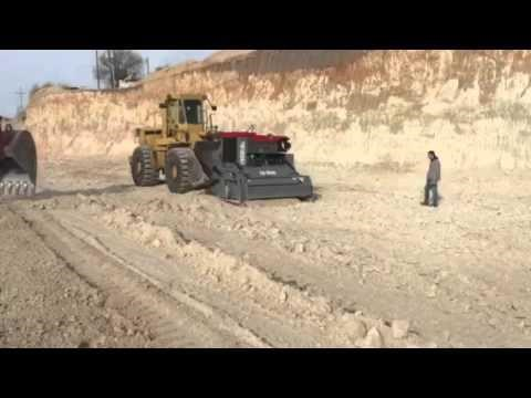 asphalt zipper zipminer surface mining attachment 450999 006