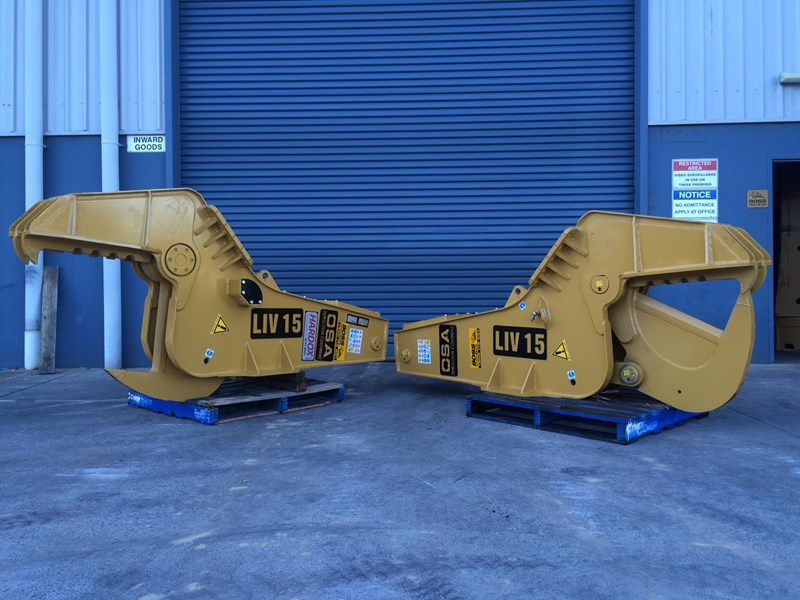 o.s.a o.s.a liv series hydraulic tree shears 450572 007