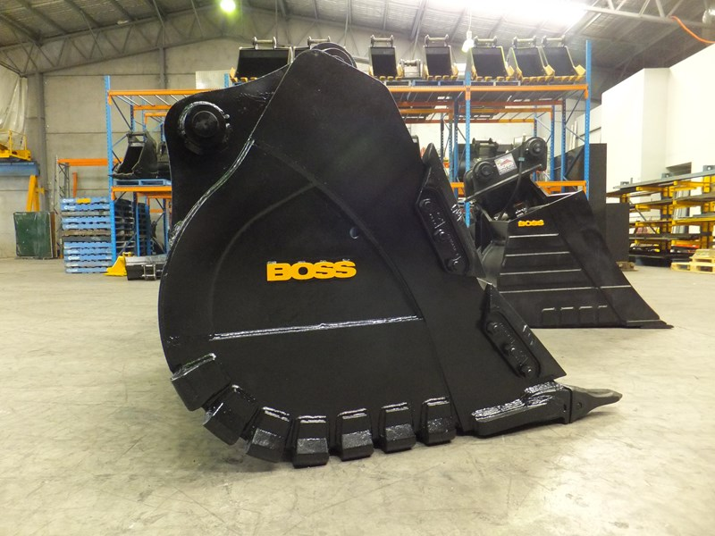 boss attachments boss italia 100-150 ton mine spec rock buckets 450588 001