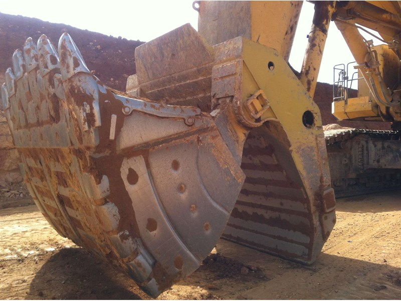 boss boss 100-350 ton mine spec face shovel buckets 450744 001