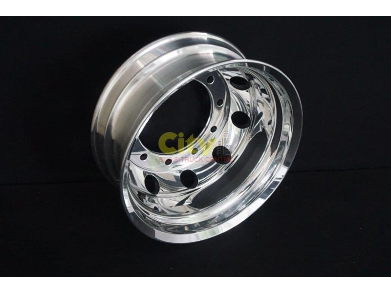 roh 10/335 8.25x22.5 rohdmaster polished alloy drive rim 451300 003
