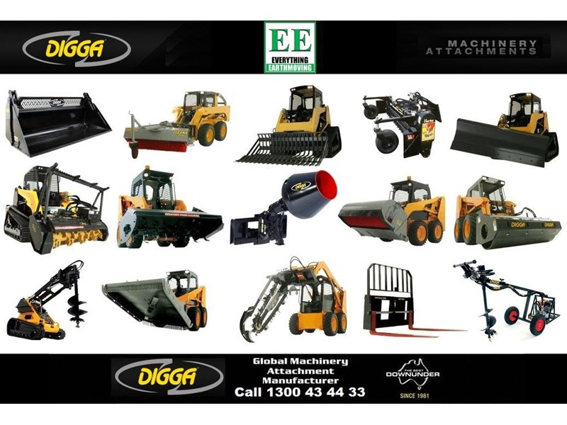 digga digga pd8hf backhoe high flow auger drive 385498 003
