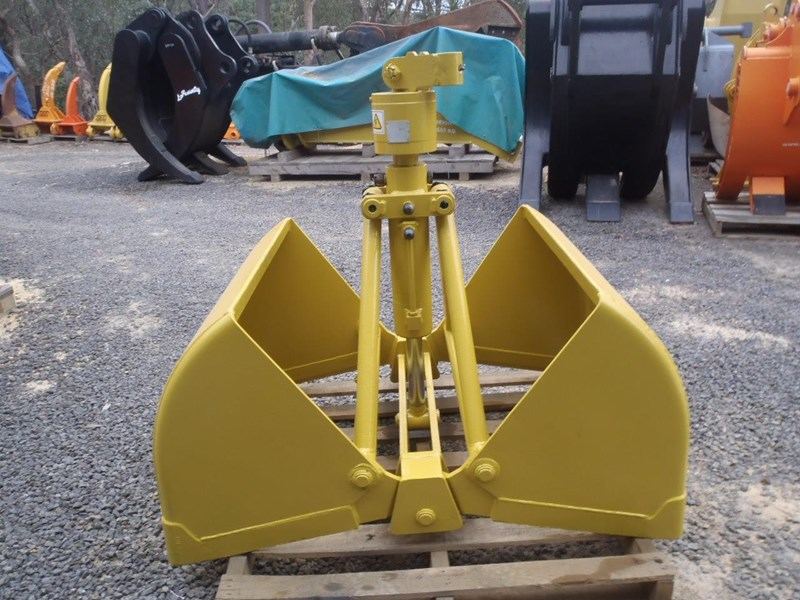 CUSTOM CLAMSHELL BUCKET for sale or hire