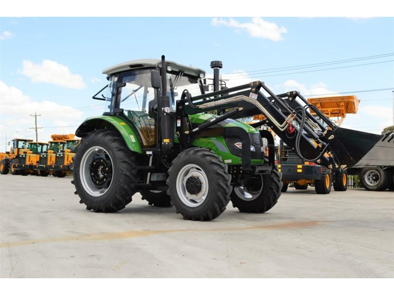 agrison 100hp cdf + 4 in 1 bucket + fel + tinted windows 455234 001