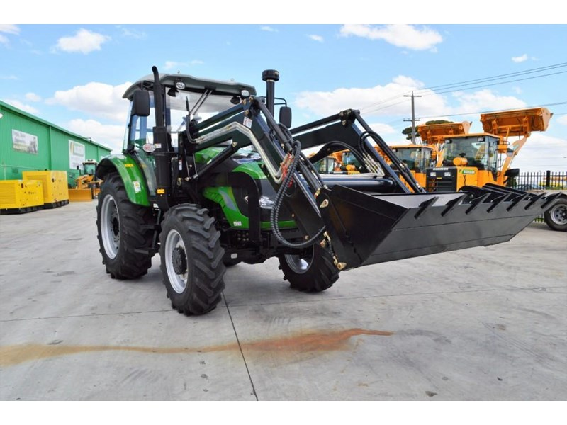 agrison 100hp cdf + 4 in 1 bucket + fel + tinted windows 455234 021