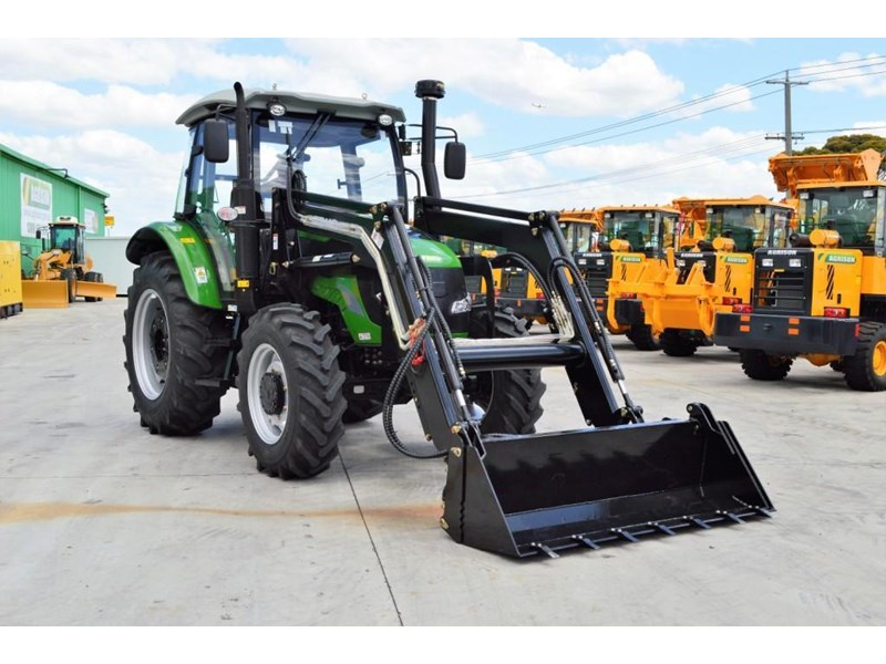 agrison 100hp cdf + 4 in 1 bucket + fel + tinted windows 455235 026