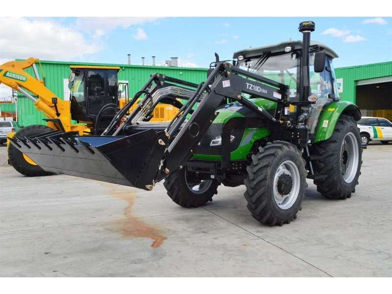 agrison 100hp cdf + 4 in 1 bucket + fel + tinted windows 455237 006