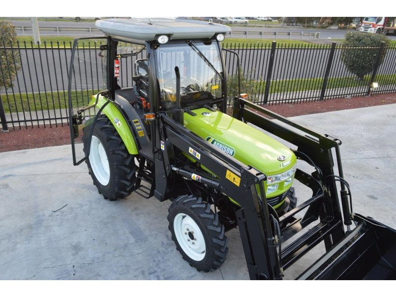 agrison agrison 60hp ultra g3 + turbo + aircon + 6ft slasher + tinted windows 129373 009