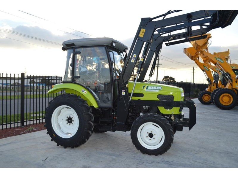 agrison agrison 60hp ultra g3 + turbo + aircon + 6ft slasher + tinted windows 129373 017