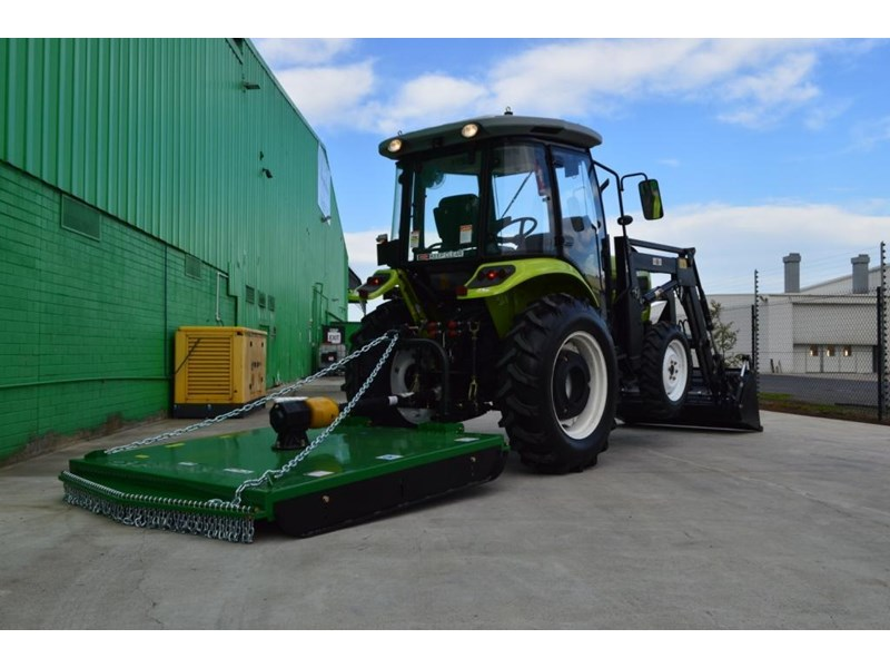 agrison agrison 60hp ultra g3 + turbo + aircon + 6ft slasher + tinted windows 129373 029