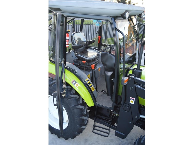 agrison agrison 60hp ultra g3 + turbo + aircon + 6ft slasher + tinted windows 129807 009