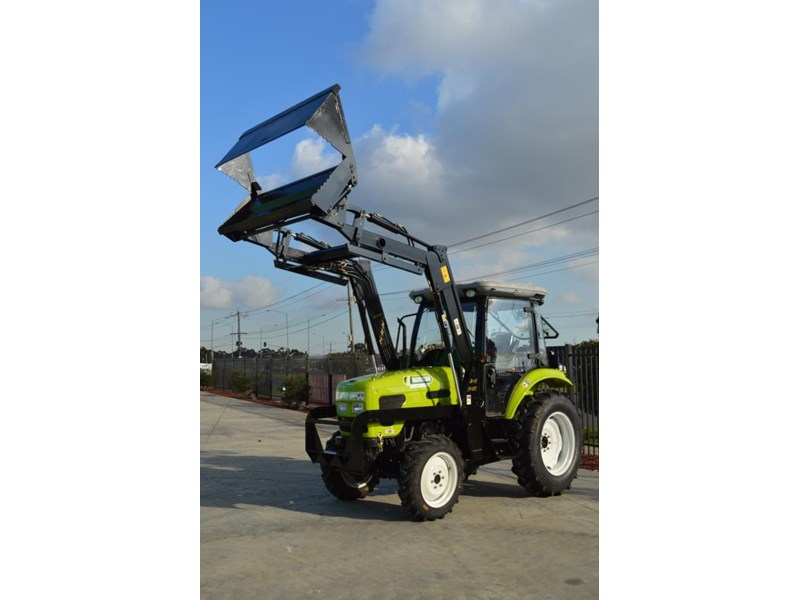 agrison agrison 60hp ultra g3 + turbo + aircon + 6ft slasher + tinted windows 129354 004