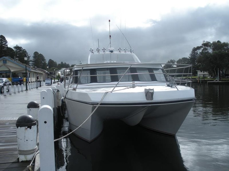 fishing boat catamaran for sale trade boats australia