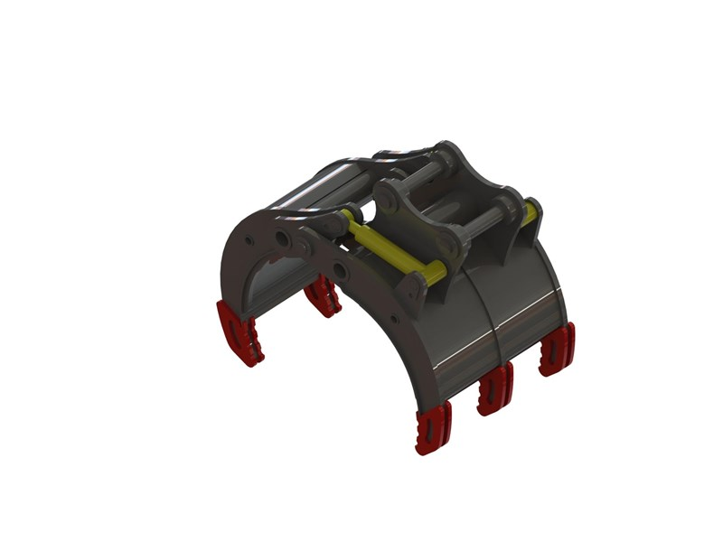 australian bucket supplies hydraulic rock grab to suit 30-35t excavators 328343 001
