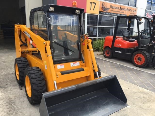 hysoon skid steer loader 700kg swl w/ air con 90988 001