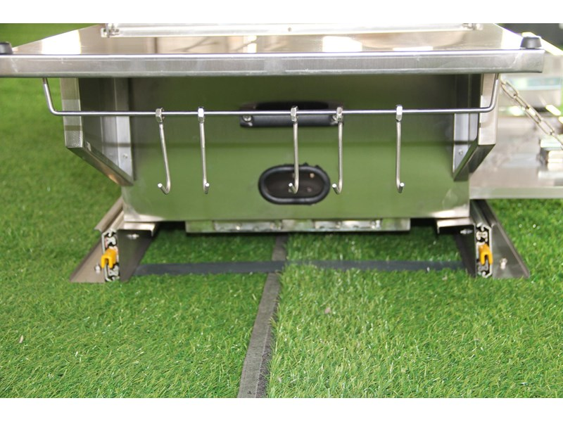 kylin campers stainess steel slide out kitchen 460839 005